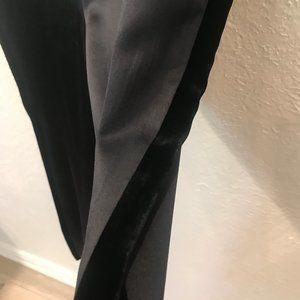 bloomingdale's Vintage 100% Silk Tuxedo Pants SZ 4